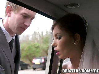 Brazzers - pre-wedding shacking up