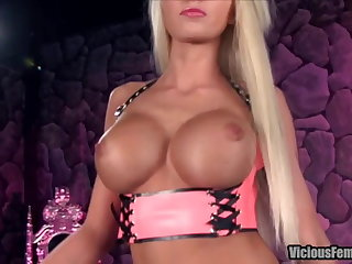 Rikki Six Femdom STRAPON CHASTITY Gender SISSY Forged FETISH