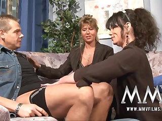 MMV Films Full-grown teacher having divertissement in a couple