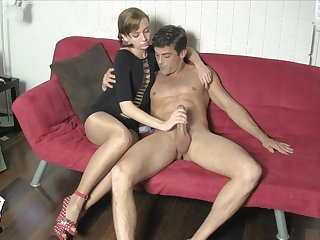 Edged and Milked by Lizzy Lamb Beaming PANTYHOSE Circumstance SITTING