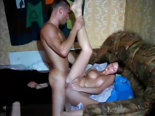 Brunette College Tart Masturbates Clit While Pussy Is Pounded