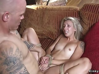 Dude punishes and fucks blond hair lady old hat modern