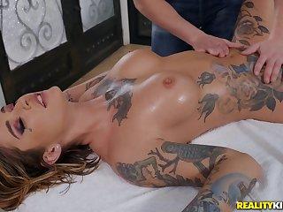 Astounding Kleio Valentien in moronic massage porn scenes