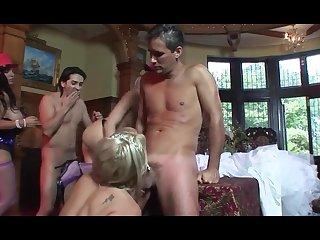 Porn wedding going well - crazy group sex