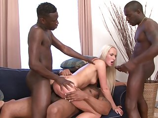 Lickerish black the rabble enjoyment from Jenny Simons in crazy XXX scenes