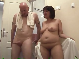 Kinky freak fucks adult fat slut
