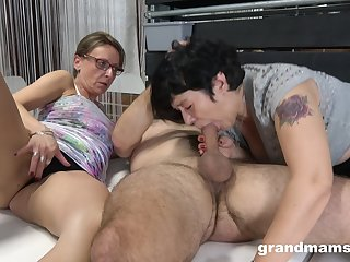 Matures portion cock in ways they always dreamed when they were younger