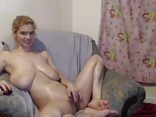 saggy breasts on webcam make me cum!
