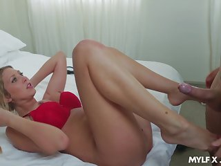 Playful sexually aggressive MILF just wants to fuck that guy incongruous