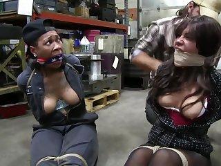Two Girls Borders BDSM bondage