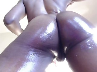 That's what you call a phat racy ass and that puffy pussy of hers is amazing